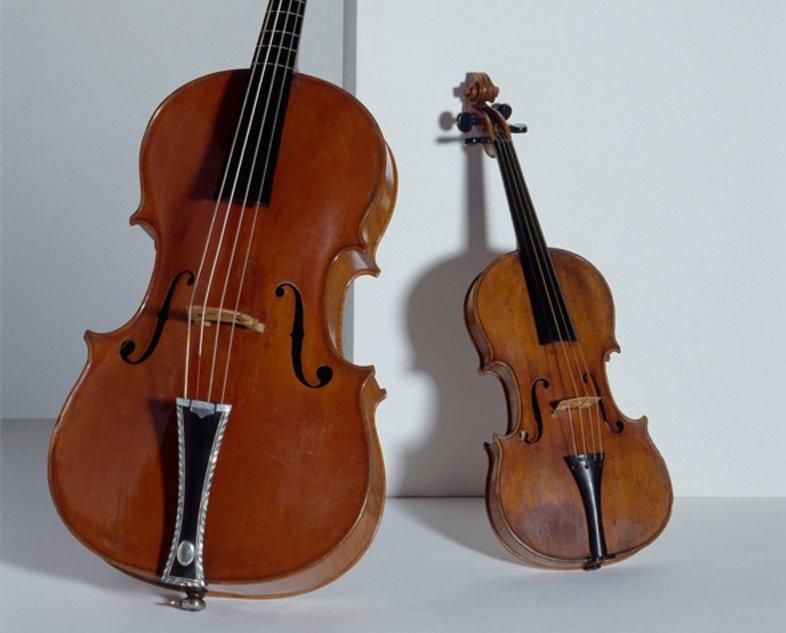 Photo d'instruments du Musée