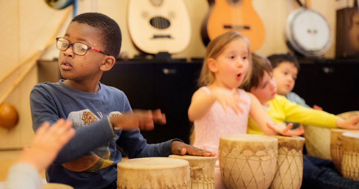 Eveil musical - enfants de 6 ans