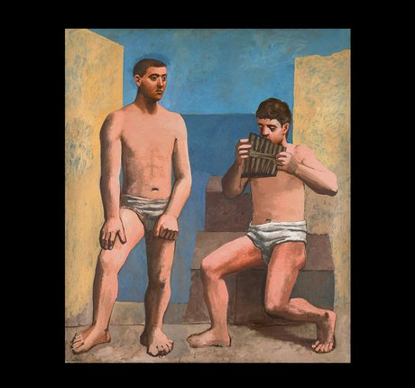 La Flûte de Pan, Paris; automne 1923, Huile Sur Toile, 205 × 174,5 Cm, Musée National Picasso-Paris
